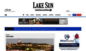 Lakenewsonline com ▷ Observe Lake News Online News | Local News