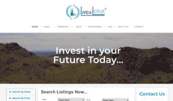 Land4less us ▷ Observe Land4 Less News | Land4Less - Cheap