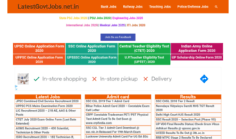 Latestgovtjobs net in ▷ Observe Latest Govt Jobs News