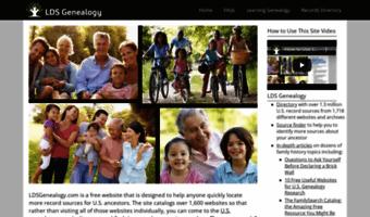 Ldsgenealogy com ▷ Observe LDS Genealogy News | Genealogy