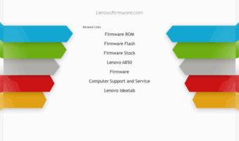 Lenovofirmware com ▷ Observe Lenovofirmware News