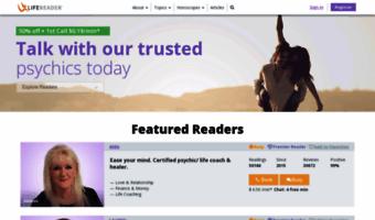 Lifereader com ▷ Observe Lifereader News | Clairvoyant and