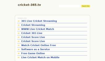 Live Cricket 365 Tv Observe Live Cricket 365 News