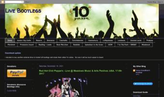Livebootlegconcert blogspot com ▷ Observe Live Bootlegconcert