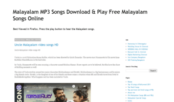 best site to download malayalam songs for free