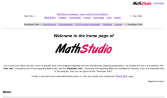 mathstudio.sourceforge.net