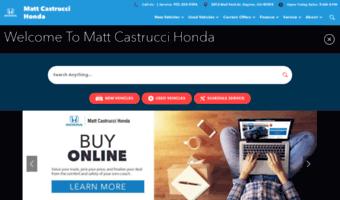 Mattcastruccihonda Com Observe Matt Castrucci Honda News Honda