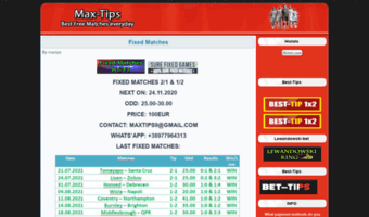Max-tips com ▷ Observe Max Tips News | Max Tips Betting