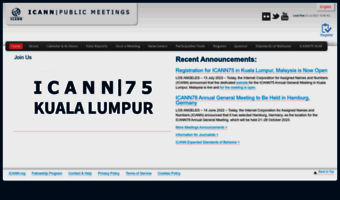 meetings.icann.org