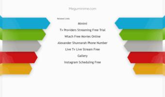 Meguminime com ▷ Observe Megumi Nime News | MegumiNime - Download