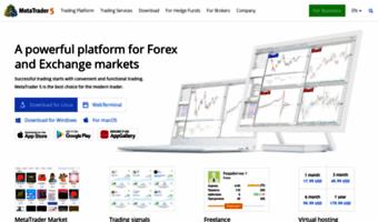 Metatrader5 com ▷ Observe Meta Trader 5 News | MetaTrader 5