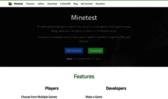 Minetest net ▷ Observe Minetest News | Minetest - Open