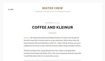 Mistercrew com ▷ Observe Mister Crew News | A collection of things