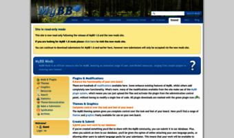 Mods mybb com ▷ Observe Mods MyBB News | MyBB - Mods - Home