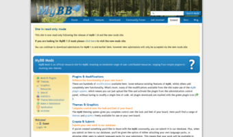 Mods mybboard net ▷ Observe Mods MyBB Oard News | MyBB