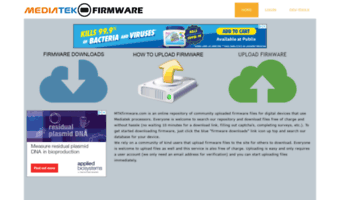 Mtkfirmware com ▷ Observe Mtk Firmware News | Home | MediaTek Firmware