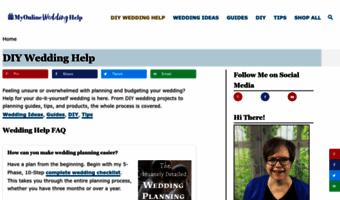 myonlineweddinghelp com observe my online wedding help news my