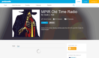 Old Time Radio Podcast