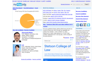 Myvisajobs com ▷ Observe My Visa Jobs News   Solution for Work Visa