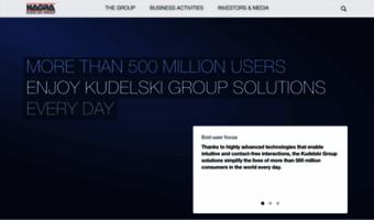 Nagra com ▷ Observe Nagra News | Kudelski Group