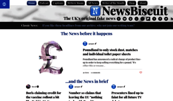 Newsbiscuit Com Observe News Biscuit News Newsbiscuit Uk