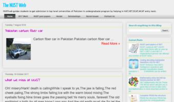 Nustweb com ▷ Observe NUST Web News | The NUST Web