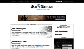 Obits staradvertiser com ▷ Observe Obits Staradvertiser