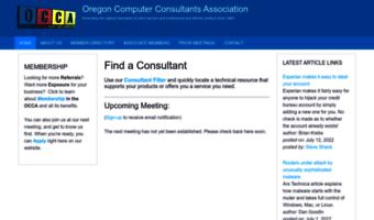 Occa org ▷ Observe OCCA News | OCCA Home - Oregon Computer