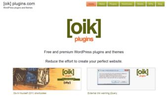 Oik-plugins com ▷ Observe Oik Plugins News   Home - [oik