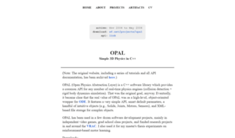 opal.sourceforge.net