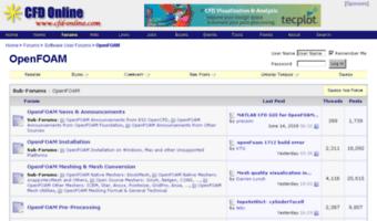 Openfoam cfd-online com ▷ Observe OpenFOAM CFD Online News