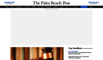 Palm beach post local news today
