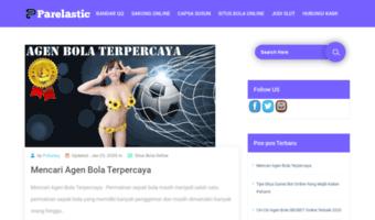 Parelastic Com Observe Parelastic News Games Bandar Qq Poker Terbaru Agen Judi Online