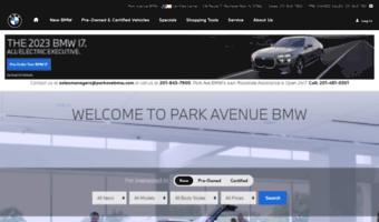 Bmw Park Avenue >> Parkavebmw Com Observe Park Ave Bmw News Park Ave Bmw