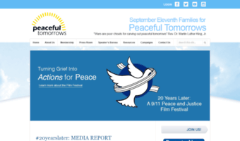 peacefultomorrows.org