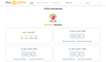Phil-lotto com ▷ Observe Phil Lotto News | PCSO Lotto Results for Today