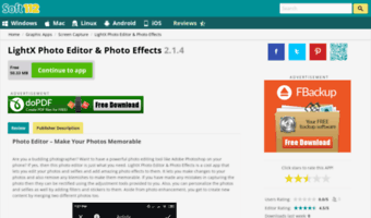 lightx photo editor for pc free download