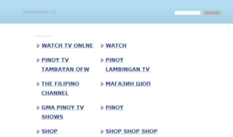 Pinoytvshop org ▷ Observe Pinoytvshop News | Default Web Site Page