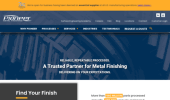 Pioneermetal Observe Pioneer Metal News