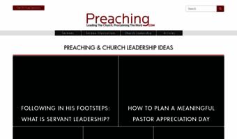 Preaching com ▷ Observe Preaching News   Sermons