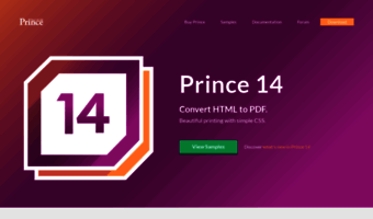 Princexml com ▷ Observe Prince Xml News | Prince - Convert HTML to