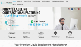 Private Label Liquid Supplements
