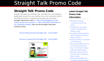 Straight talk coupon code