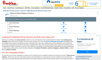 Proxville com ▷ Observe Proxville News | Free Proxy sites