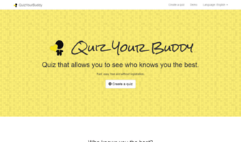 Quizyourbuddy com ▷ Observe Quiz Your Buddy News   Quiz
