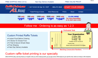 FREE Shipping 100 Chinese Auction //Penny Sale //Tricky Tray Tickets Made in US