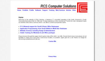Rcscs co uk ▷ Observe RCS Cs News | RCS Computer Solutions: