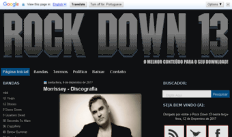Rd-13 blogspot com br ▷ Observe Rd 13 Blogspot News | Rock Down 13