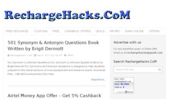 Rechargehacks com ▷ Observe Recharge Hacks News | Recharge Hacks