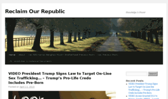 reclaimourrepublic.wordpress.com
